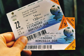 Photo: Tickets UEFA Cup Final: Feyenoord - Borussia Dortmund