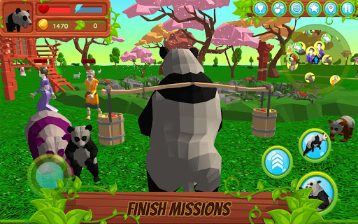 Panda Simulator  3D u2013 Animal Game modavailable screenshots 2