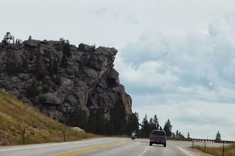 Photo: We've made it over the top of Steamboat Point (7877 ft). The minivan thanks me.