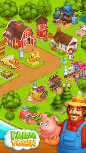 Farm Town: Happy village near small city and town 8