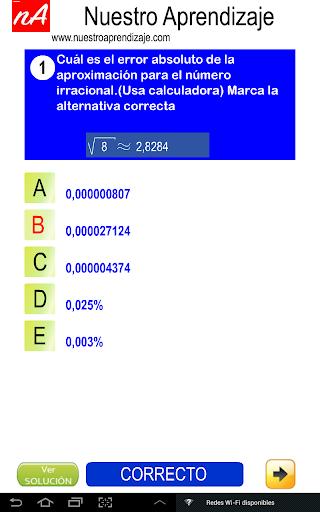 Nu00fameros Irracionales Aproximar 1.0.0 screenshots 4