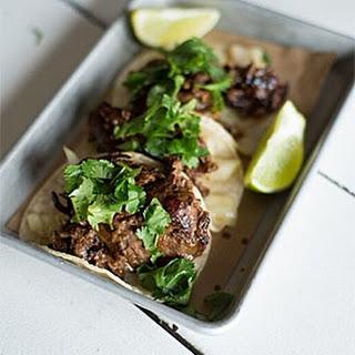 Sesame Ribeye Tacos