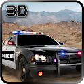 Offroad Police Jeep Chase 3D icon
