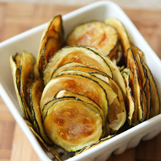 Easy Oven-Baked Zucchini Chips.