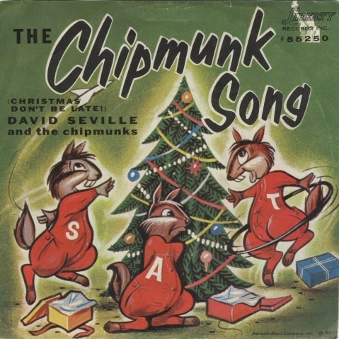 Record:The Chipmunk Song (Christmas Don't Be Late) / Alvin's Harmonica