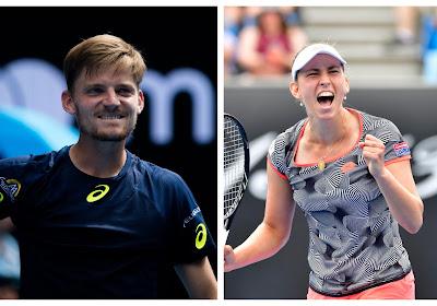 David Goffin en Elise Mertens kennen tegenstanders in achtste finales US Open