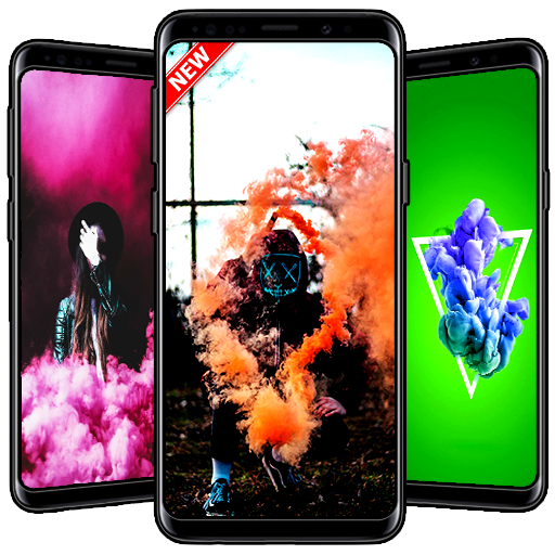 Colorful Smoke Wallpaper Android APK Download Free By VamosApps