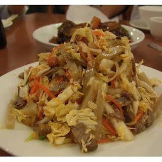 Szechuan Chicken In Peanut Sauce.