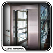 Glass Home Elevators Design