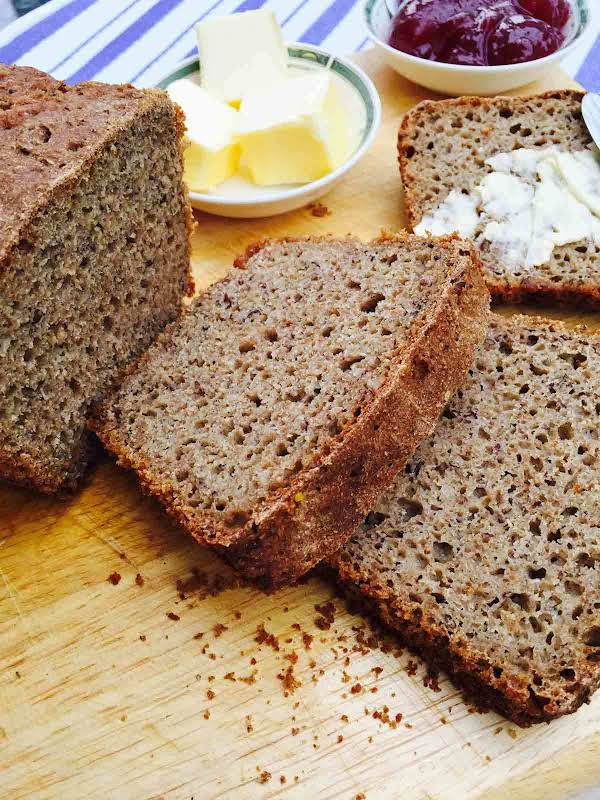 Rye Ground Linseed Bread Recipe