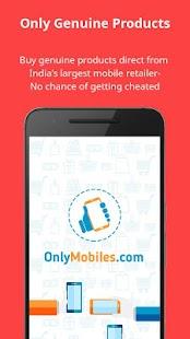 OnlyMobiles.Com Shopping App - náhled