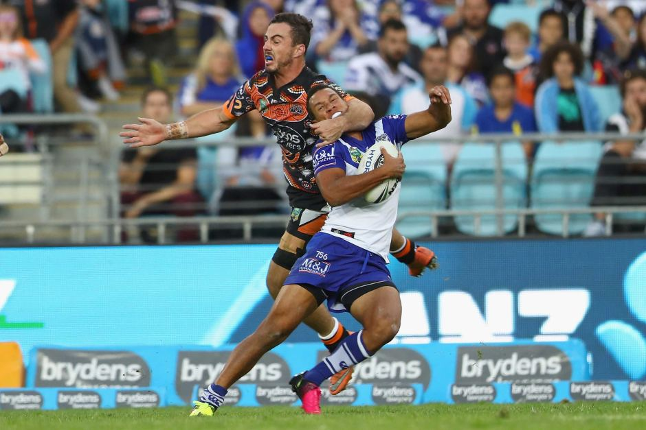 Image result for tackle west tigers