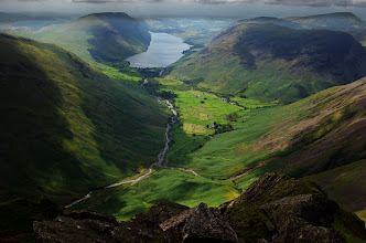 Photo: Another one of Wast Water, from the top of Great Gable. For #northwestuk  and #landscapephotograpy