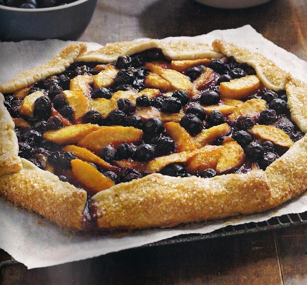 Peach And Blueberry Galette Recipe