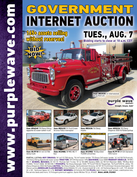 Photo: Government Auction August 7, 2012 http://purplewave.co/120807