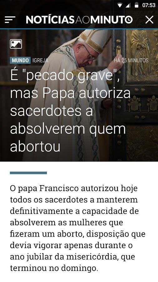 Not cias ao minuto brasil android apps on google play for Noticias de ultimo momento de famosos