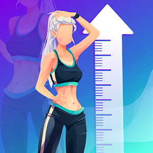 Height Increase Increase Height Workout Taller 1.5 (Premium) by Healthy Everyday logo