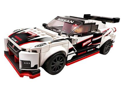 Contenido de Lego® 75896 Nissan GT-R NISMO