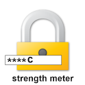 Password strength icon