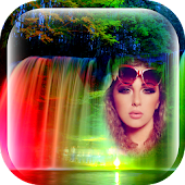 Waterfall Photo Frames New App