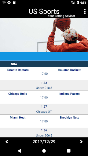 Betting Tips & Picks for USA Sports Daily Analysed photos 1