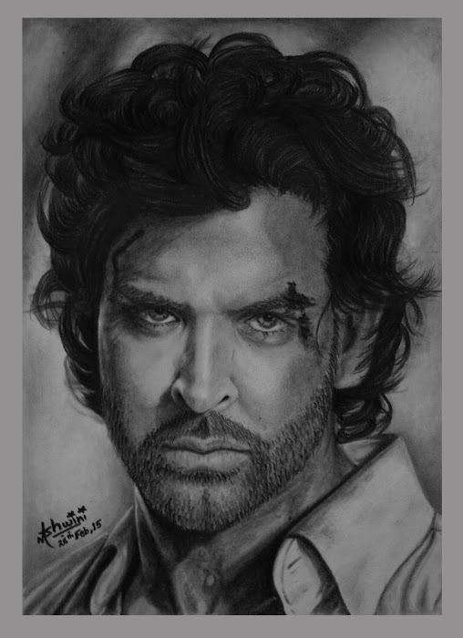 Hrithik Roshan | All Drawing | Drawing | Pixoto