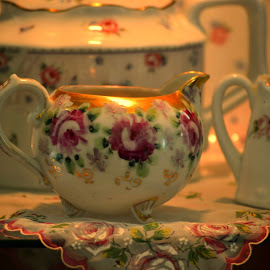 Curio Delight by Rhonda Kay - Artistic Objects Cups, Plates & Utensils