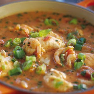 Moqueca De Camarao - Brazilian Shrimp Stew With Coconut Milk