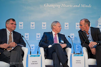 Photo: Panel discussion Servant Leadership for 21st Century - Time for  Paradigm Change