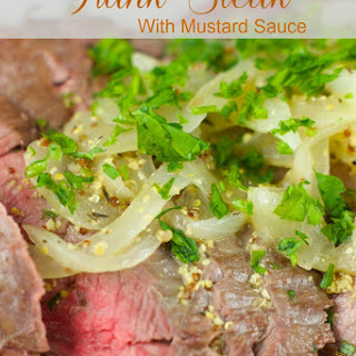 Flank Steak Recipe With Mustard Sauce
