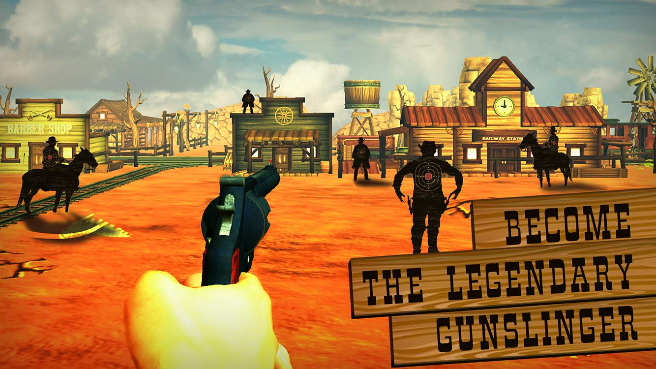 Guns & Cowboys: Bounty Hunter- screenshot