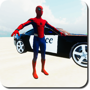 SuperHero Cop Car Stunt For PC (Windows & MAC)