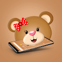 Gorgeous Teddy Bear Launcher icon