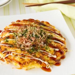 Gluten Free Tofu Okonomiyaki