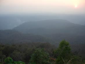 Photo: Sunset over the Dandeli Wildlife Park Karnataka - near to Goa