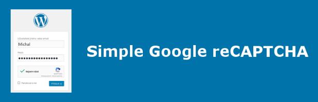 plugin Simple Google reCAPTCHA para WordPress