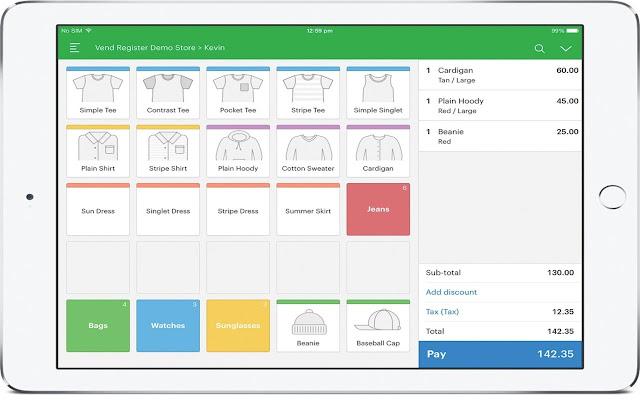 Novus Apps for Vend Register