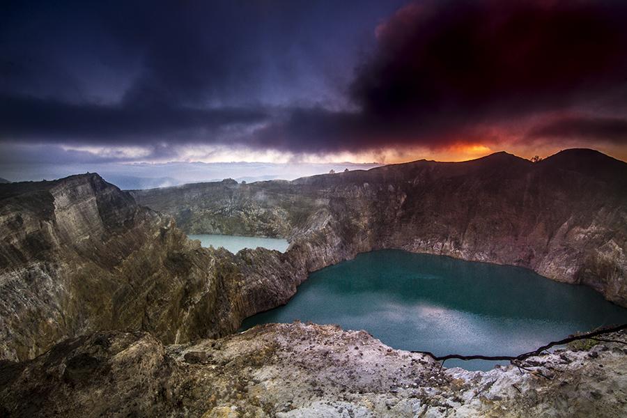 kelimutu lake by Yoas Enzo - Landscapes Travel