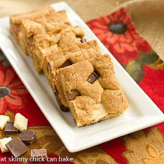 Brown Butter Chocolate Chunk Bars…#TwoSweetiePies