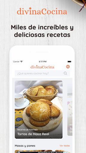 Divina Cocina   Recetas fu00e1ciles, caseras y ru00e1pidas Apk 1