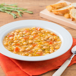 Rosemary Chickpea Soup