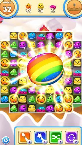 Macaron Pop : Sweet Match3 Puzzle android2mod screenshots 1