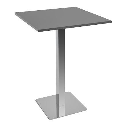 Ståbord 1000x1000 grå
