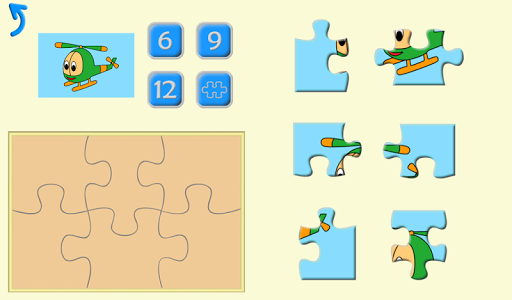 Kids Puzzles, Shapes & Numbers