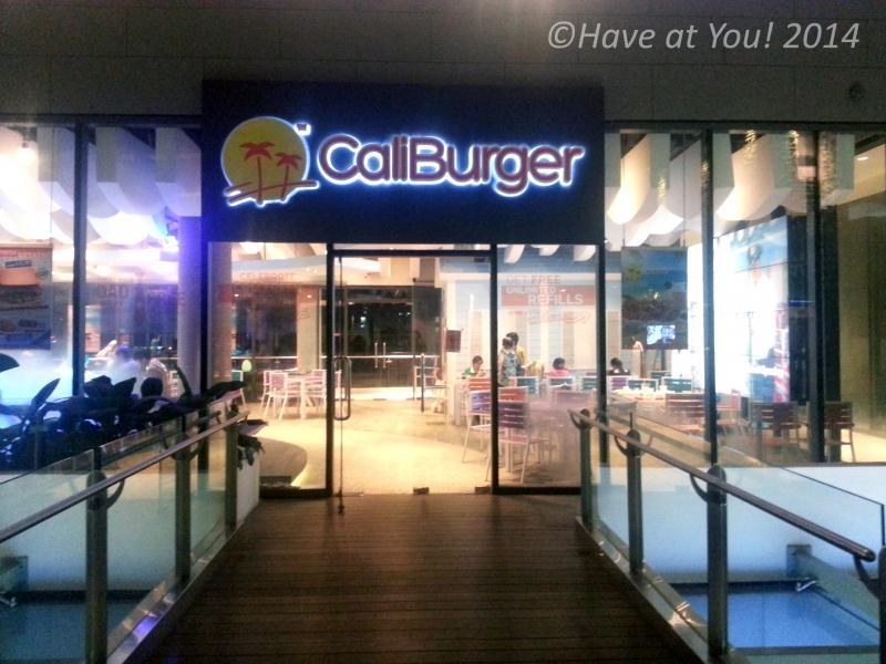 CaliBurger storefront