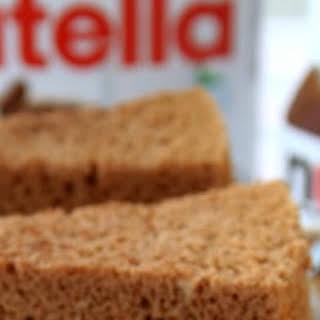 Nutella Chiffon Cake.