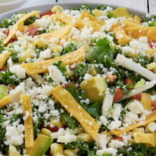Mexican Salad Bowl with Cilantro Lime Dressing Recipe