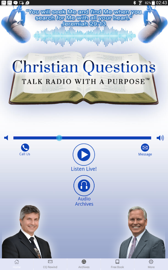 Christian Questions Podcast- screenshot