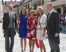 Photo: Duke Wilhelm Albert of Urach, Fürstin Alexandra of Urach,  Duchess Karen of Urach, Fürstin Louisa of Urach and Fürst  Karl Philipp of Urach