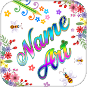 Name Art - Stylish Name Maker - Name on Photo icon